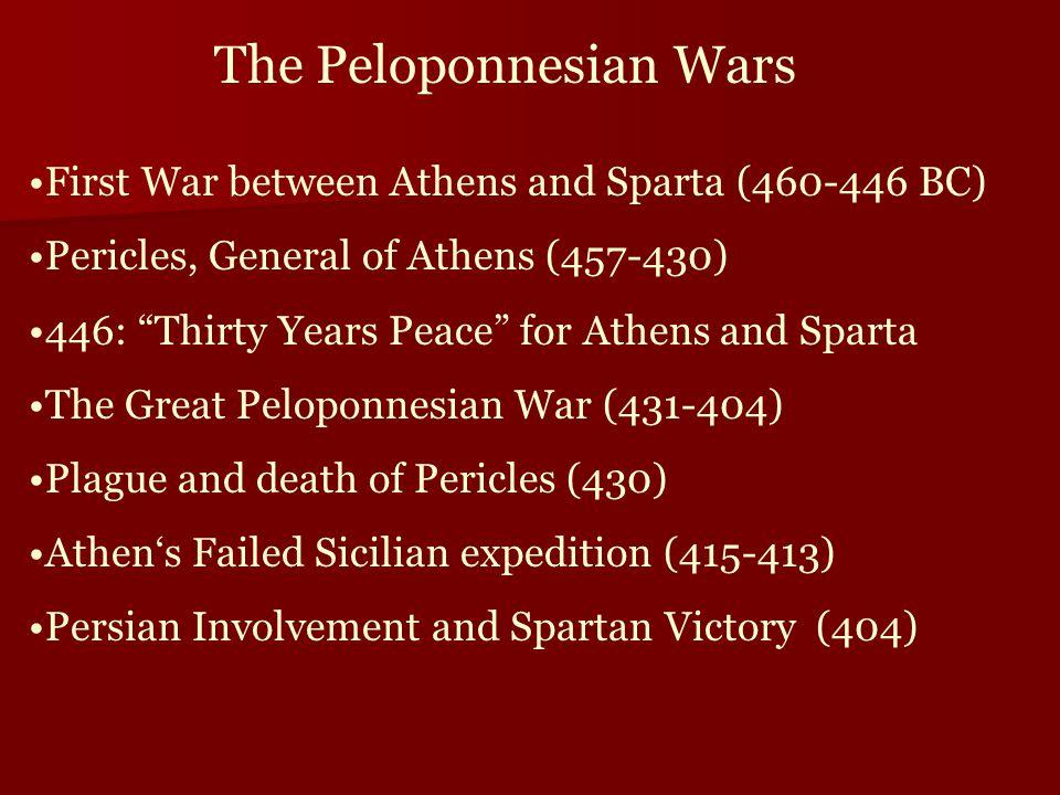 thucydide postulates balance of power involves athens and sparta