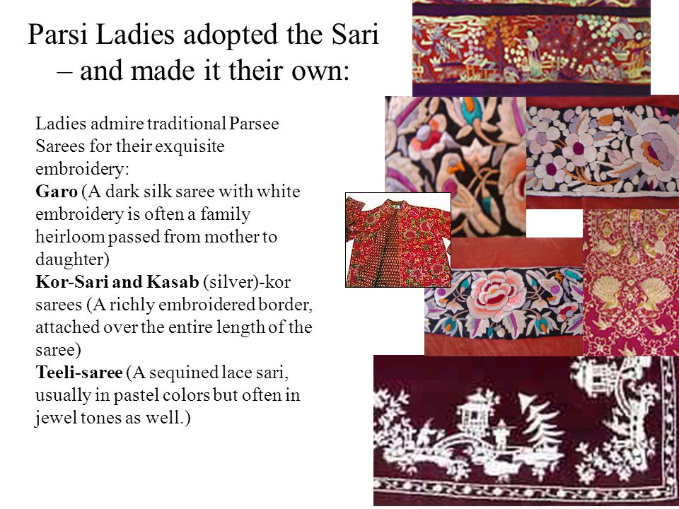 Parsi Ladies adopted the Sari – and made it their own: