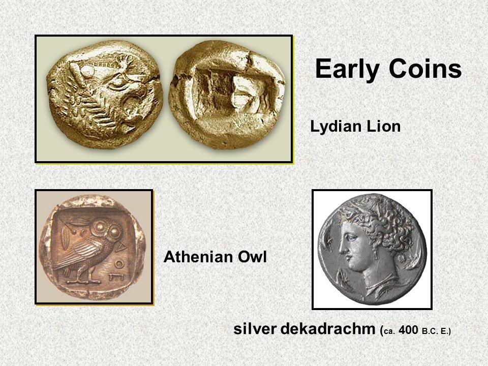 silver dekadrachm (ca. 400 B.C. E.)