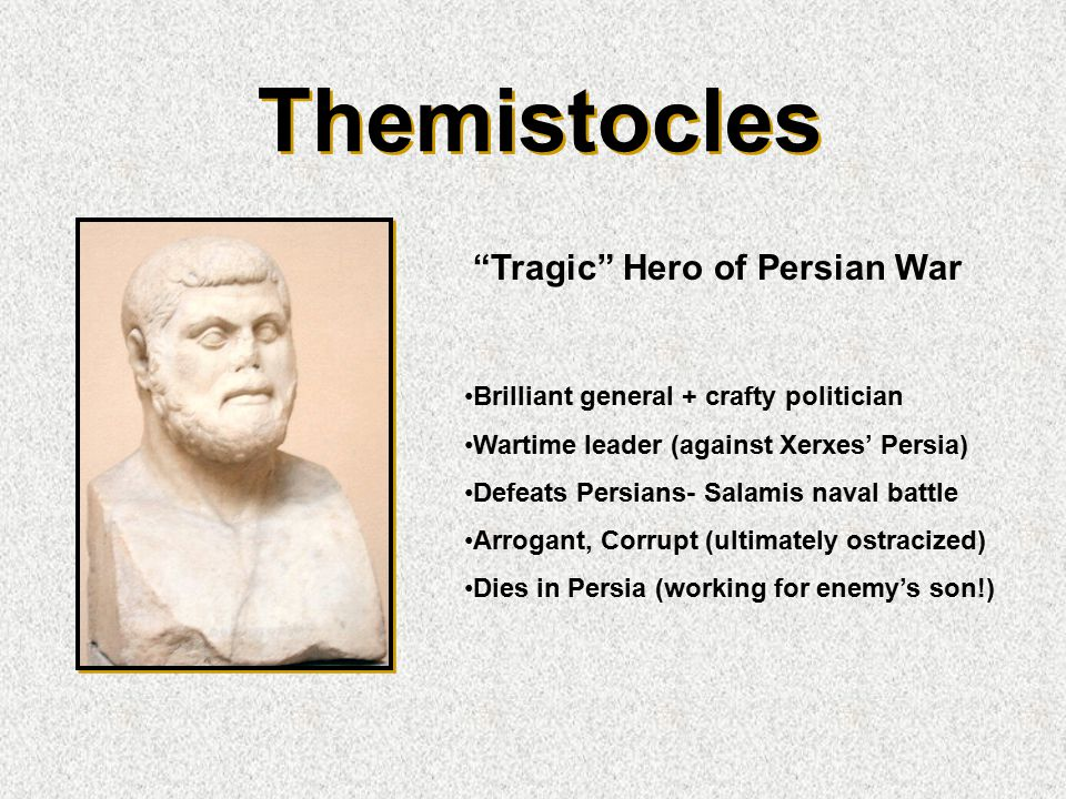 Themistocles Tragic Hero of Persian War