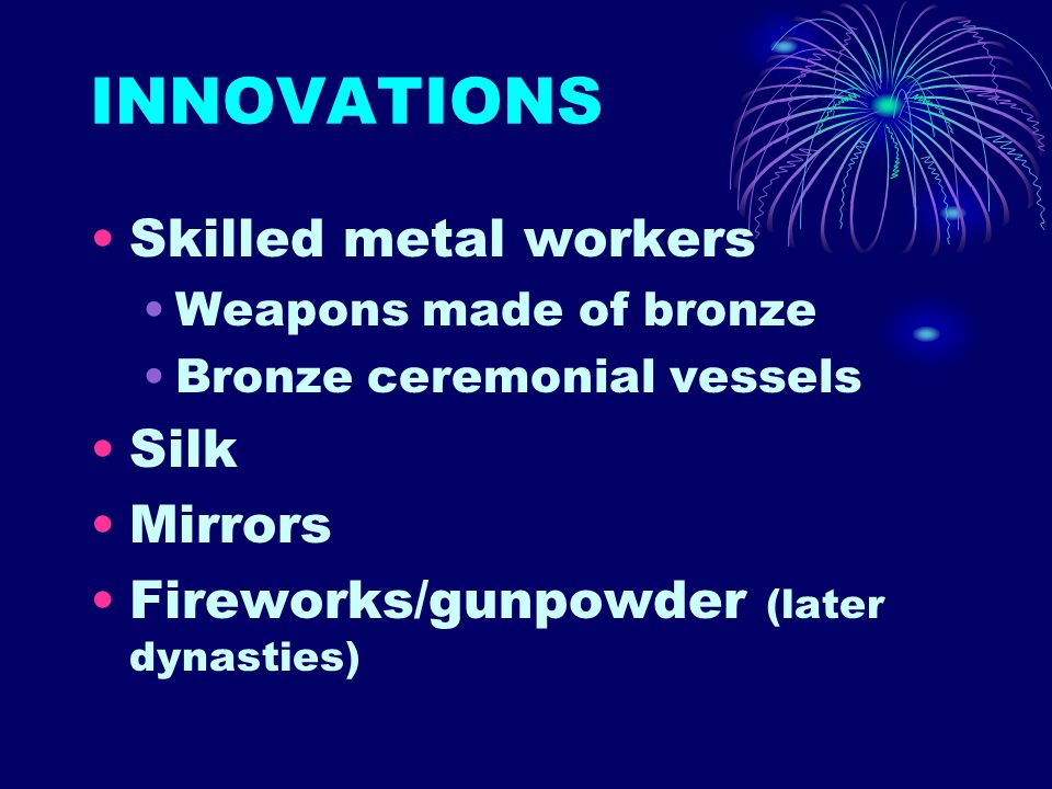 INNOVATIONS Skilled metal workers Silk Mirrors
