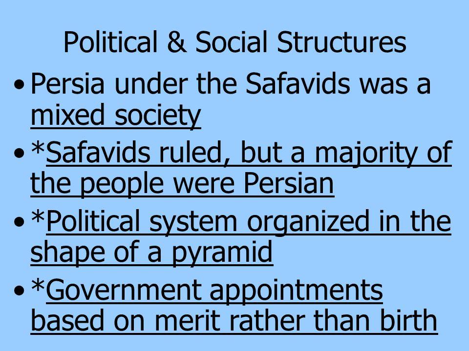 Political & Social Structures