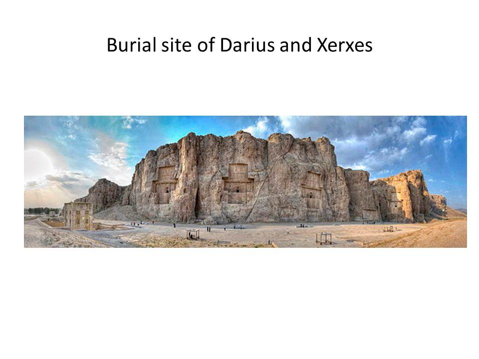 Burial site of Darius and Xerxes