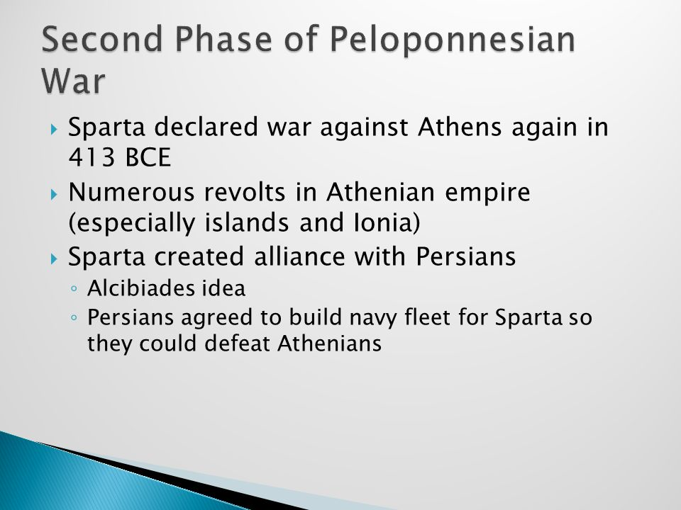 Second Phase of Peloponnesian War
