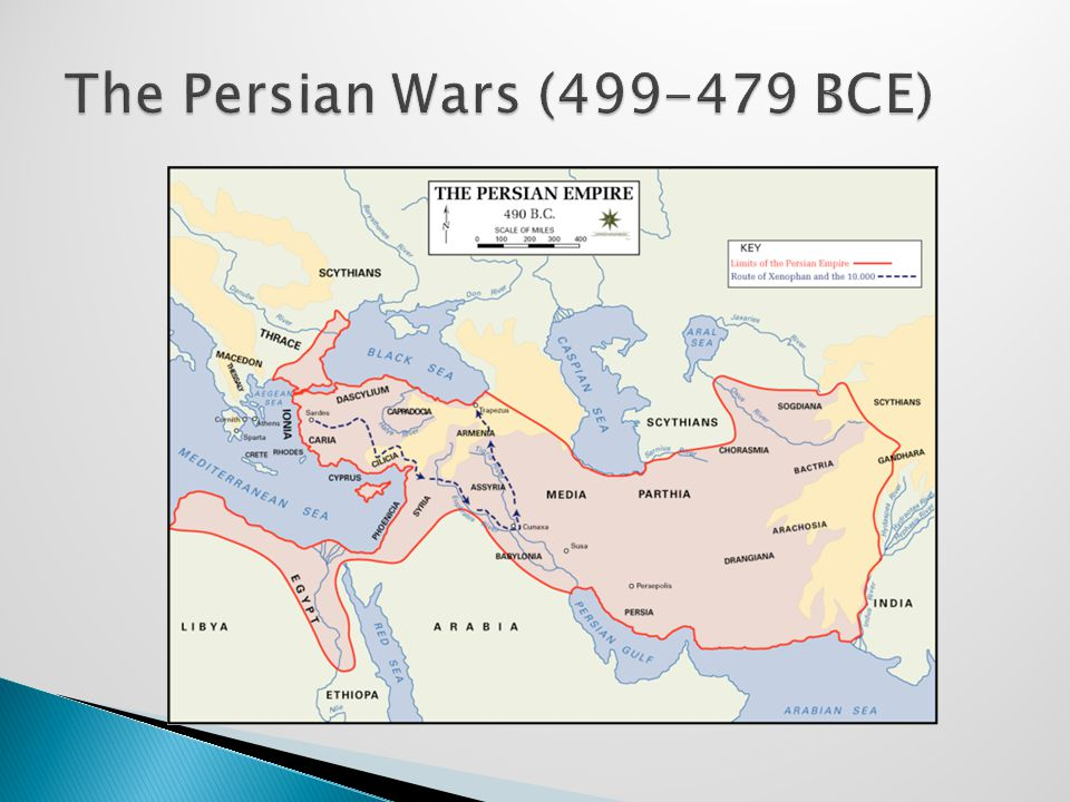 The Persian Wars (499-479 BCE)