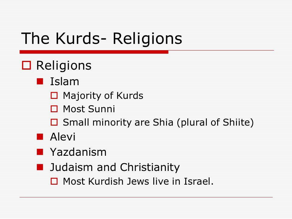 The Kurds- Religions Religions Islam Alevi Yazdanism