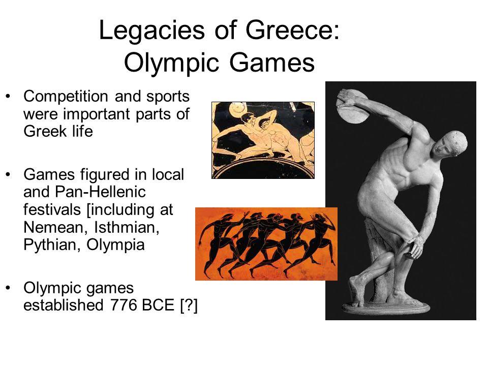Legacies of Greece: Olympic Games