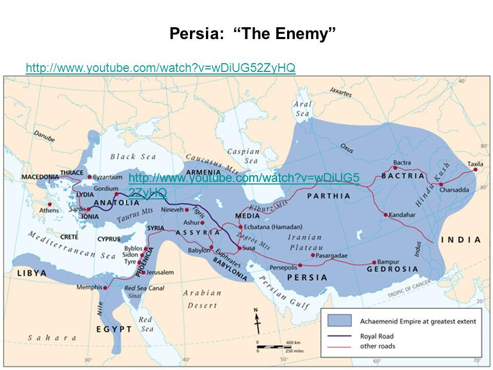 Persia: The Enemy http://www.youtube.com/watch v=wDiUG52ZyHQ