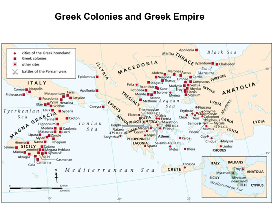 Greek Colonies and Greek Empire