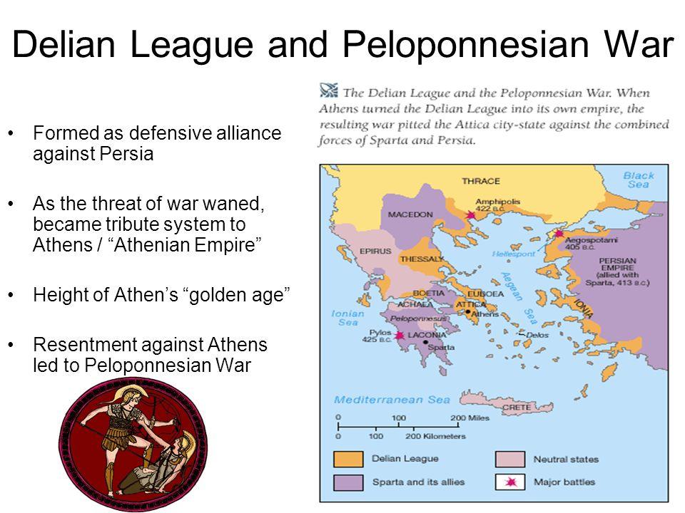 Delian League and Peloponnesian War