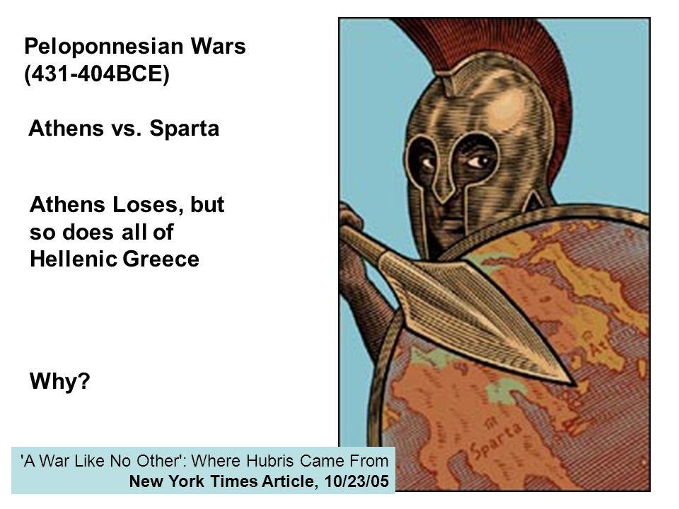 Peloponnesian Wars (431-404BCE)