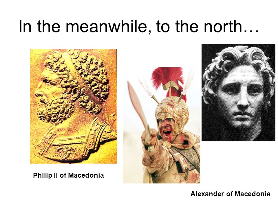 In the meanwhile, to the north…
