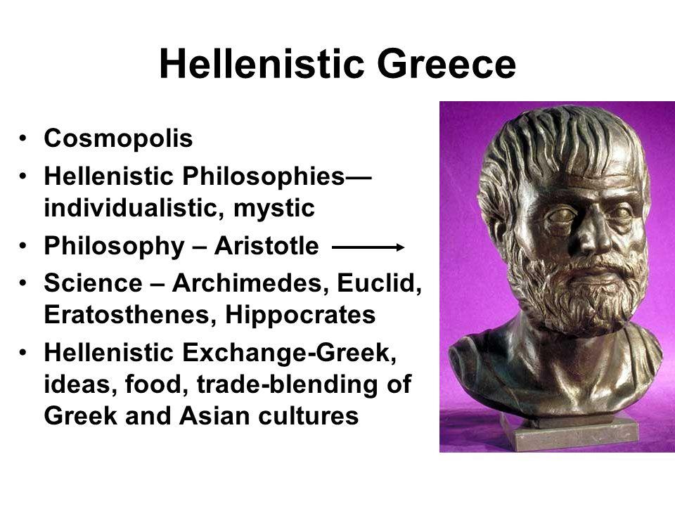 Hellenistic Greece Cosmopolis
