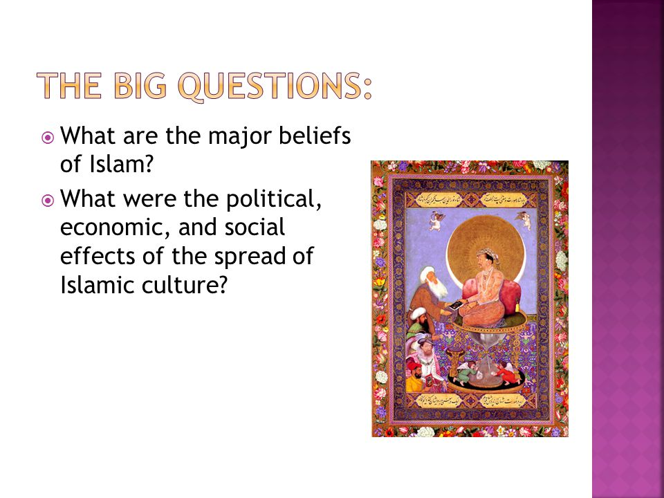 The Big Questions: What are the major beliefs of Islam