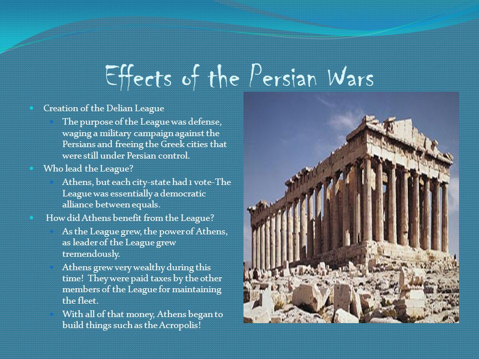 Effects of the Persian Wars