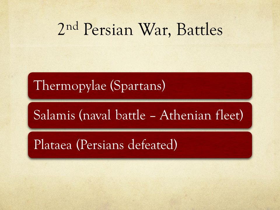 2nd Persian War, Battles Thermopylae (Spartans)