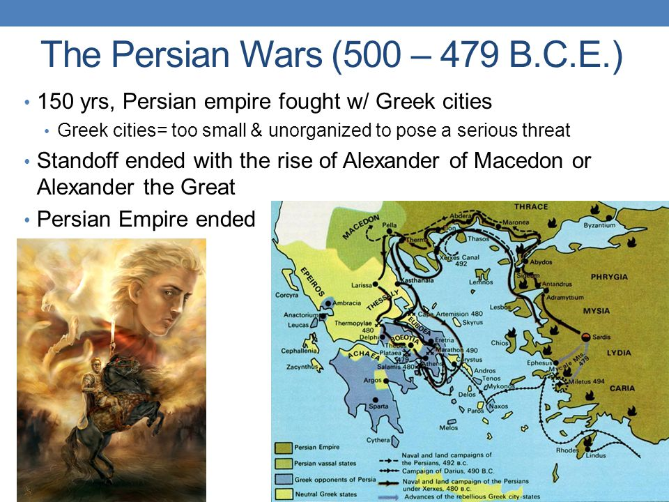The Persian Wars (500 – 479 B.C.E.)