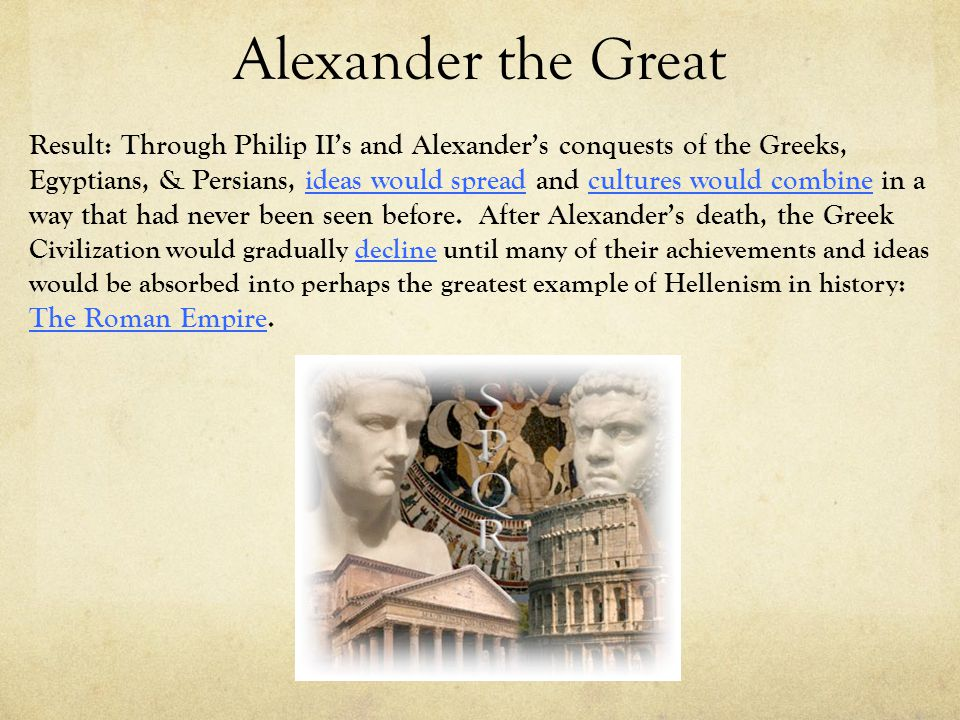 the achievements of alexander the great Here are the 10 major accomplishments of alexander the great focusing on his  glorious military campaign and the qualities that made them.