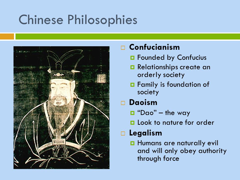 Chinese Philosophies Confucianism Daoism Legalism Founded by Confucius