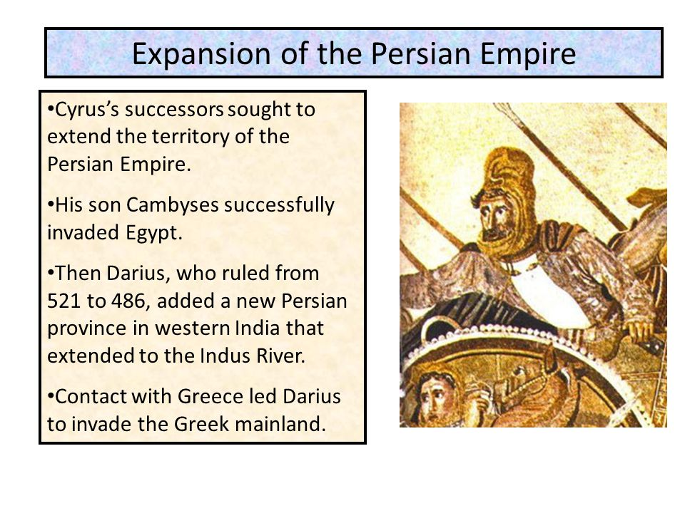 Expansion of the Persian Empire