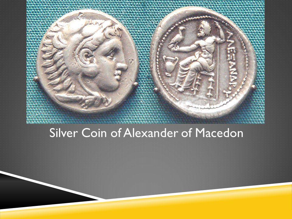 Silver Coin of Alexander of Macedon