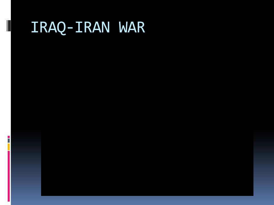 IRAQ-IRAN WAR