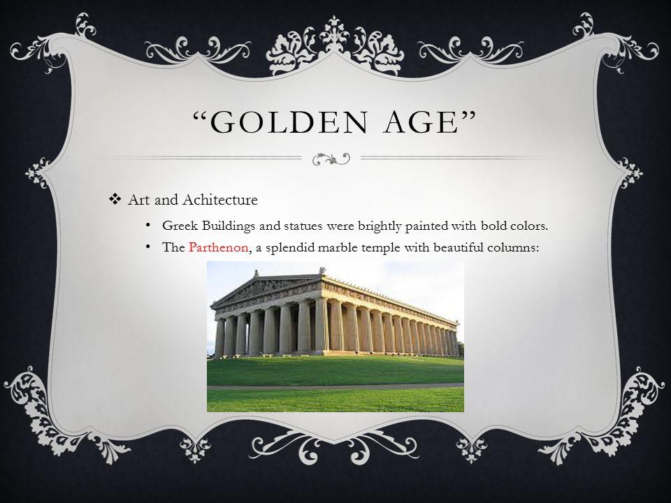 Golden Age Art and Achitecture