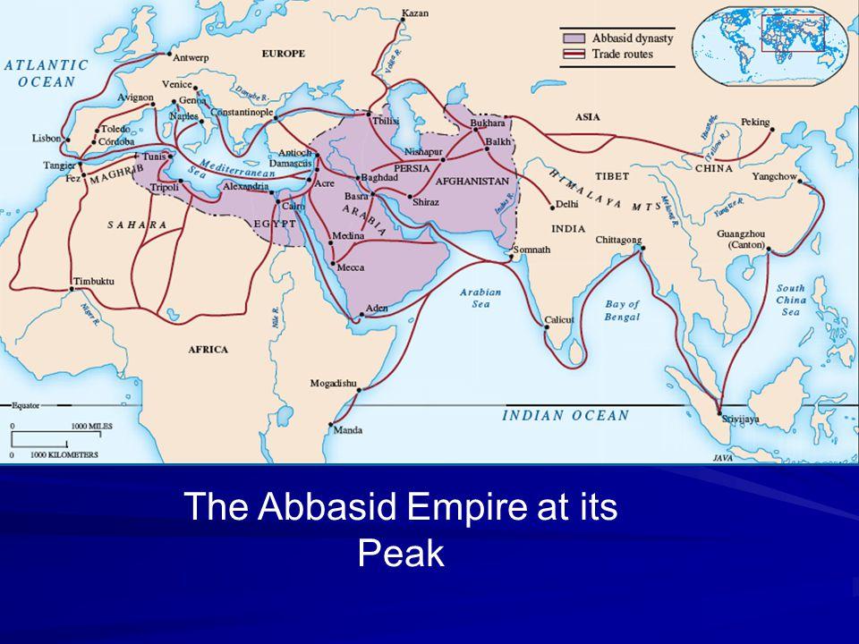 The Abbasid Empire at its Peak