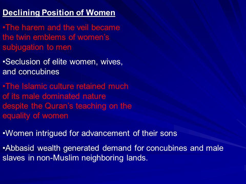 Declining Position of Women