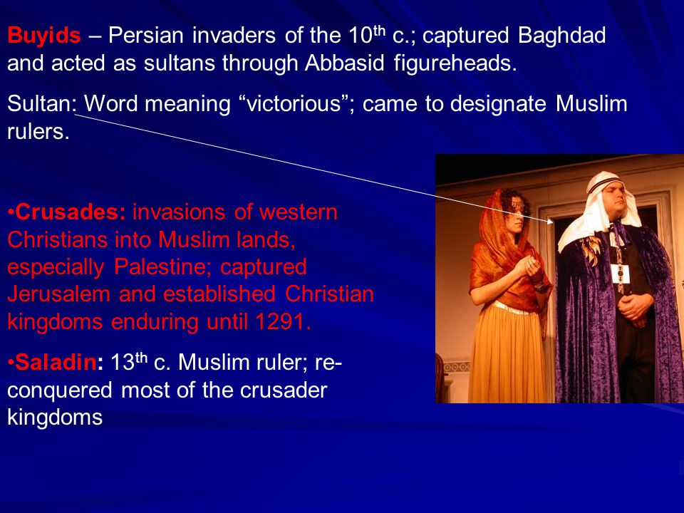 Buyids – Persian invaders of the 10th c