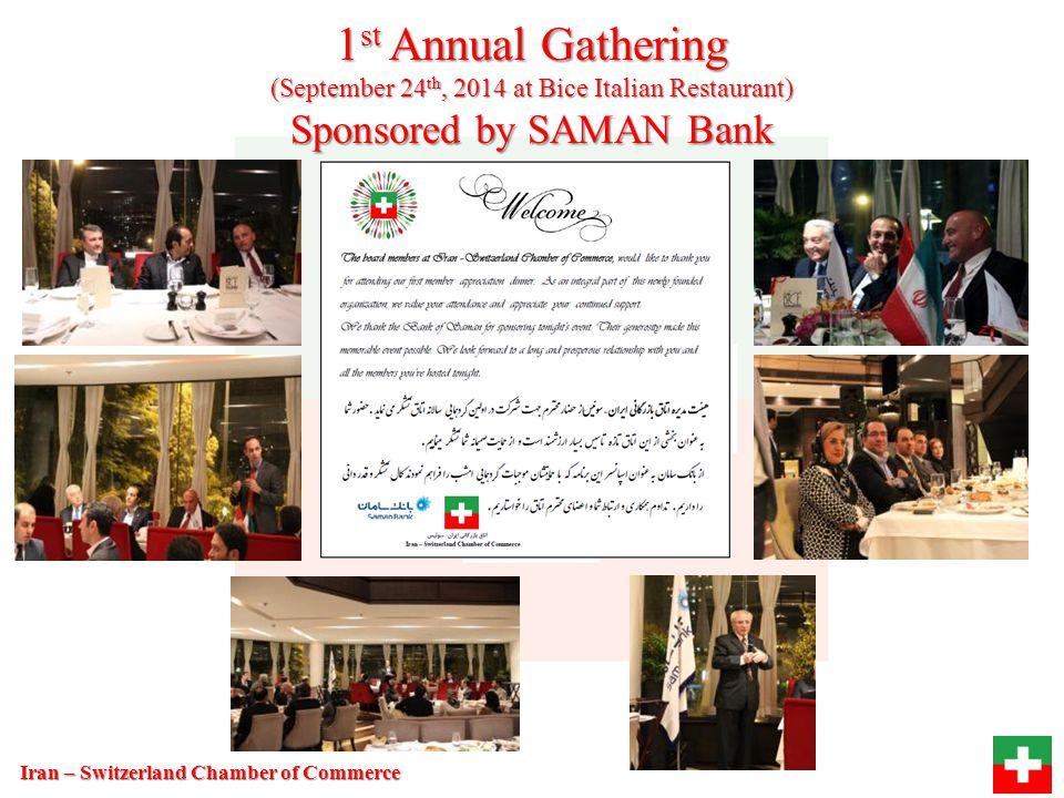 1st Annual Gathering Sponsored by SAMAN Bank