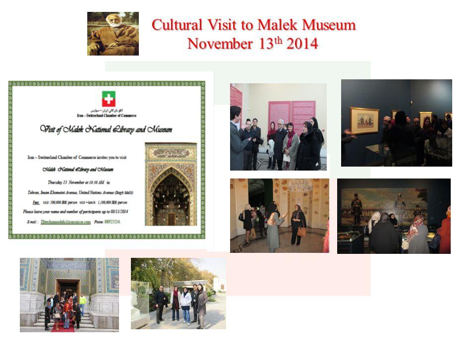 Cultural Visit to Malek Museum