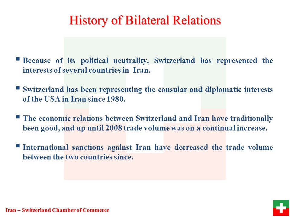 History of Bilateral Relations