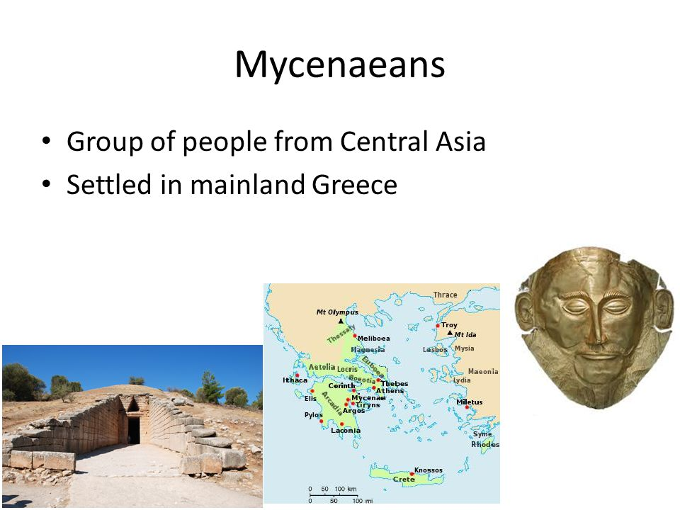 Mycenaeans Group of people from Central Asia