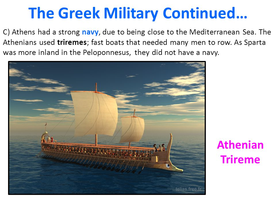 The Greek Military Continued…
