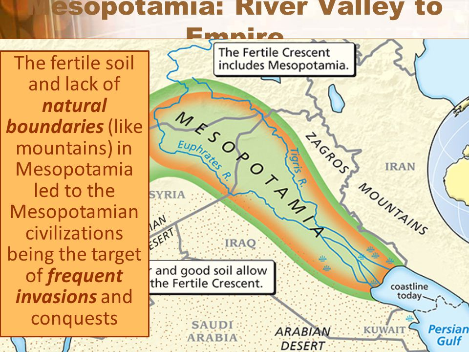 Mesopotamia: River Valley to Empire