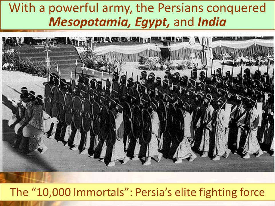The 10,000 Immortals : Persia's elite fighting force