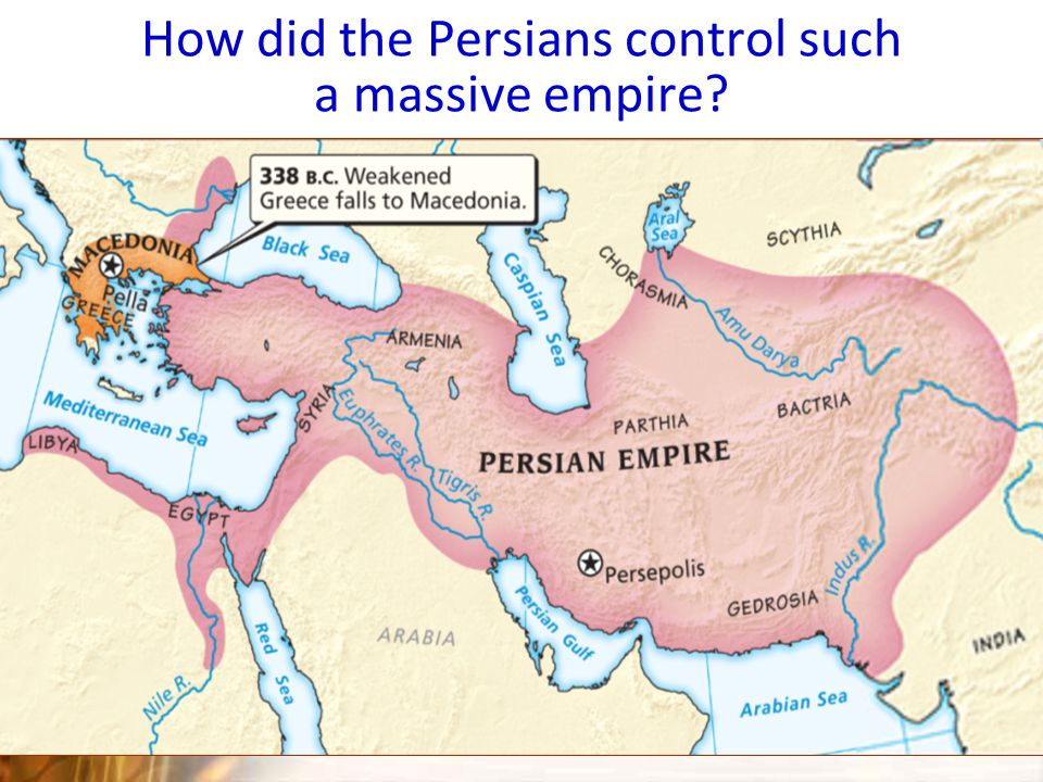 The Persian Empire at its Height