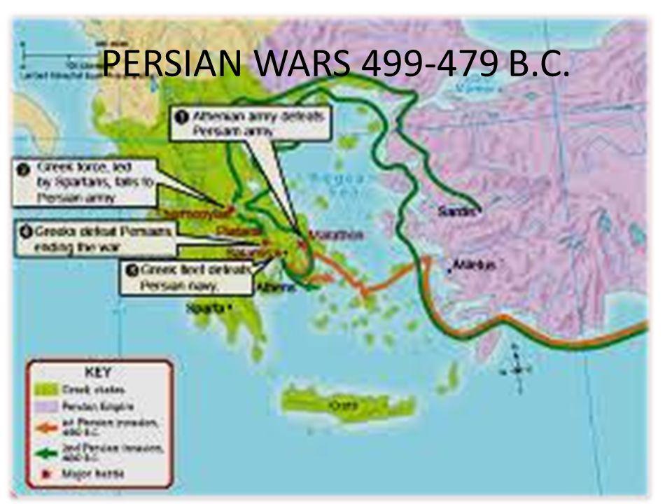 PERSIAN WARS 499-479 B.C.