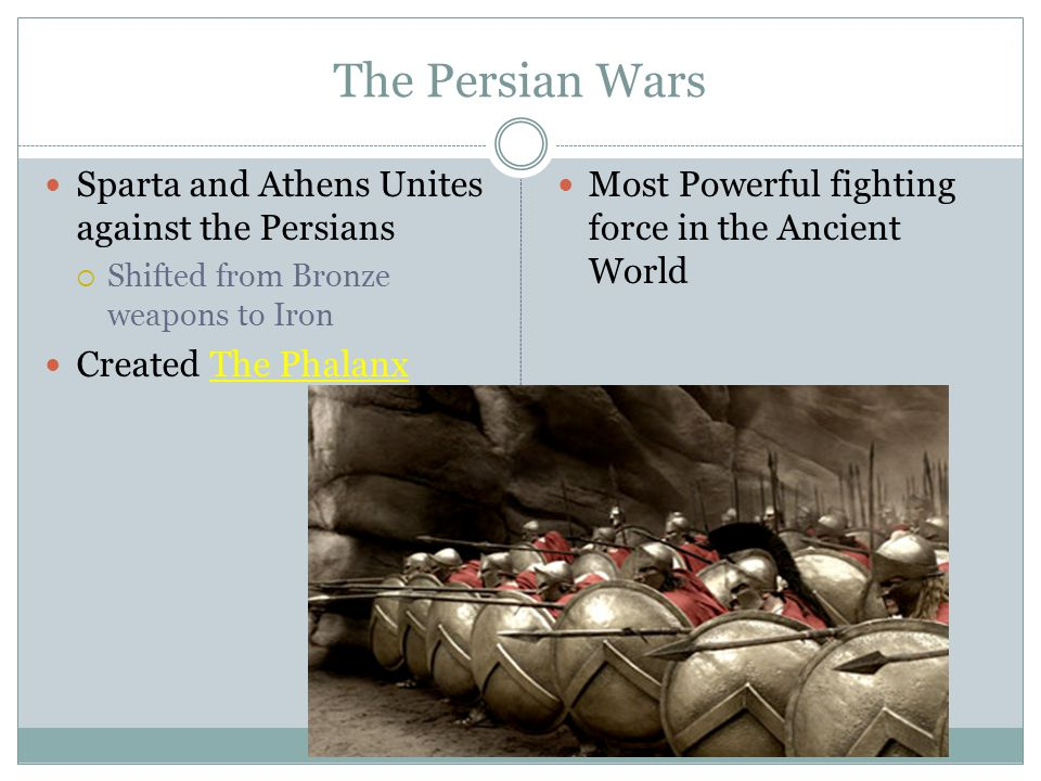 The Persian Wars Sparta and Athens Unites against the Persians