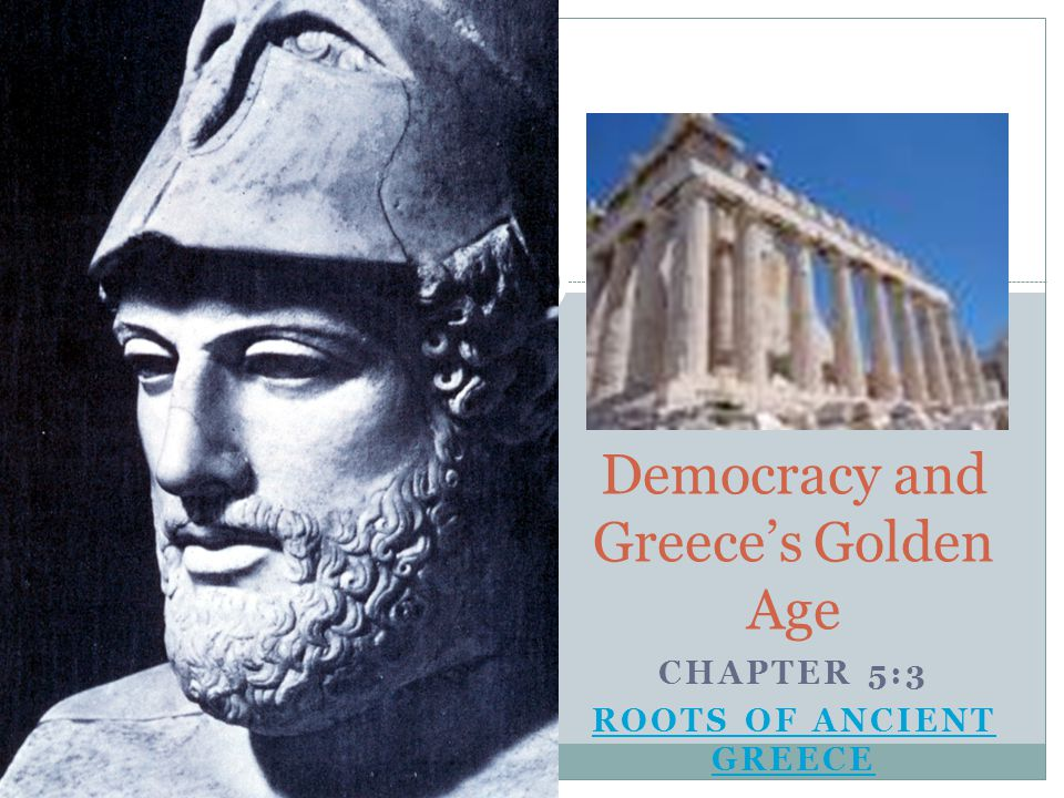 Democracy and Greece's Golden Age