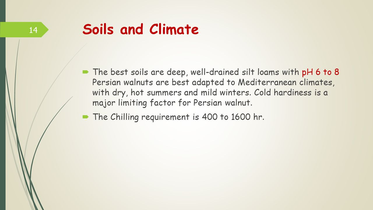Soils and Climate