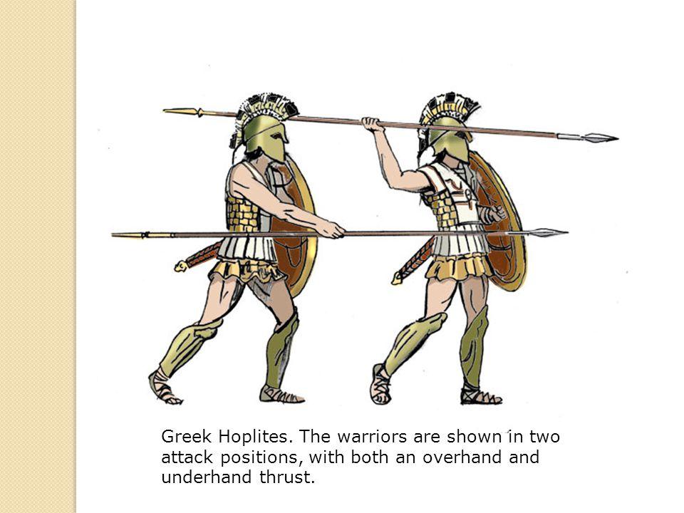 Greek Hoplites.