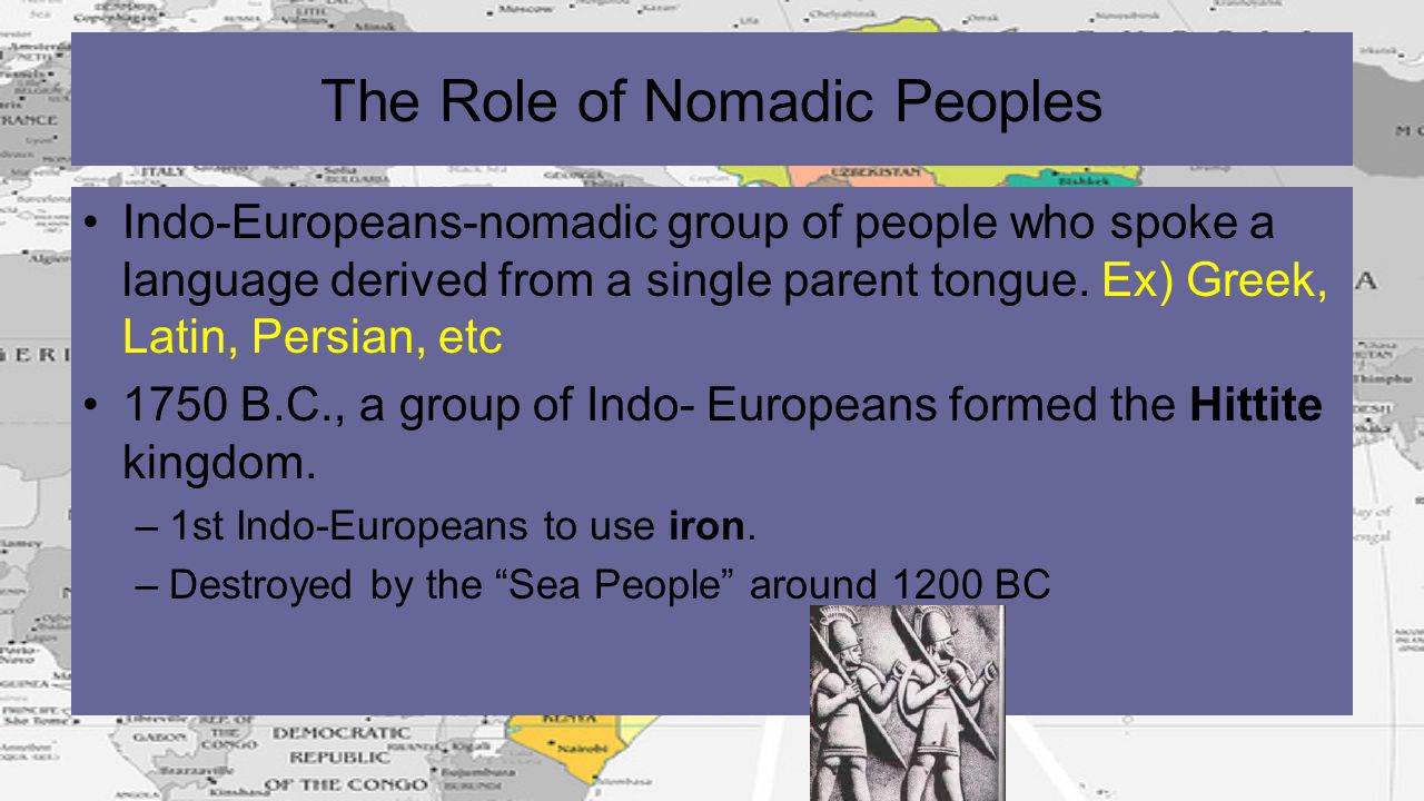 The Role of Nomadic Peoples