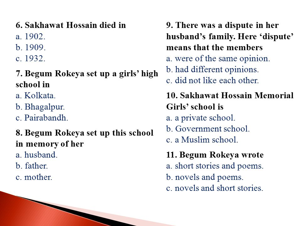 6. Sakhawat Hossain died in