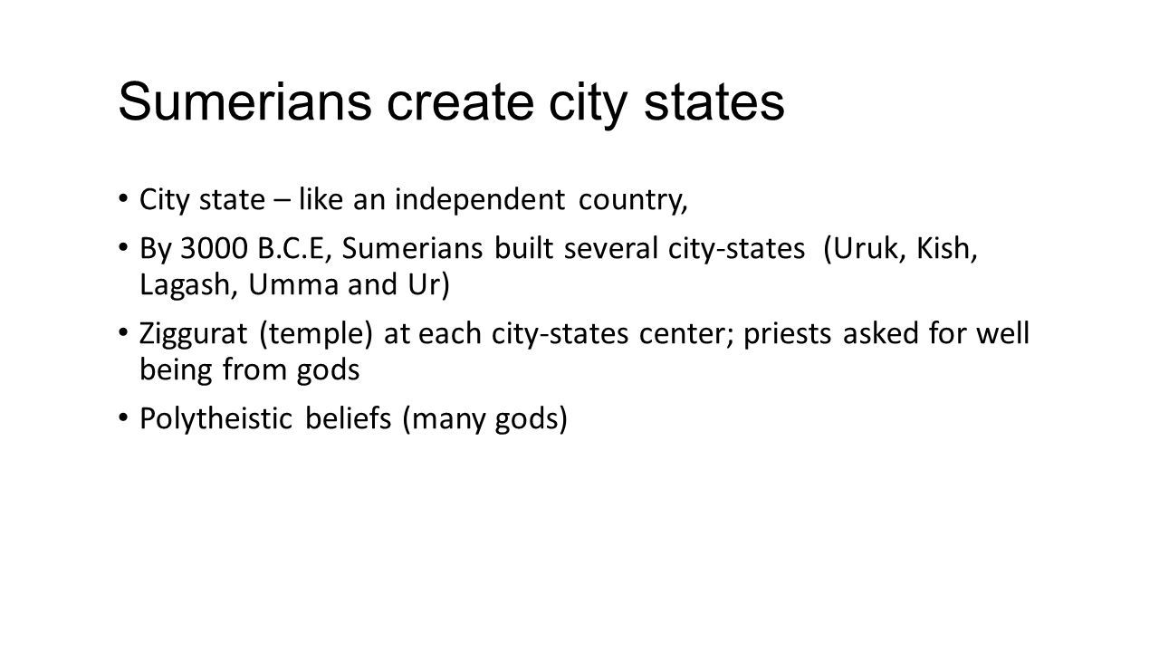 City States In Mesopotamia Ppt Video Online Download