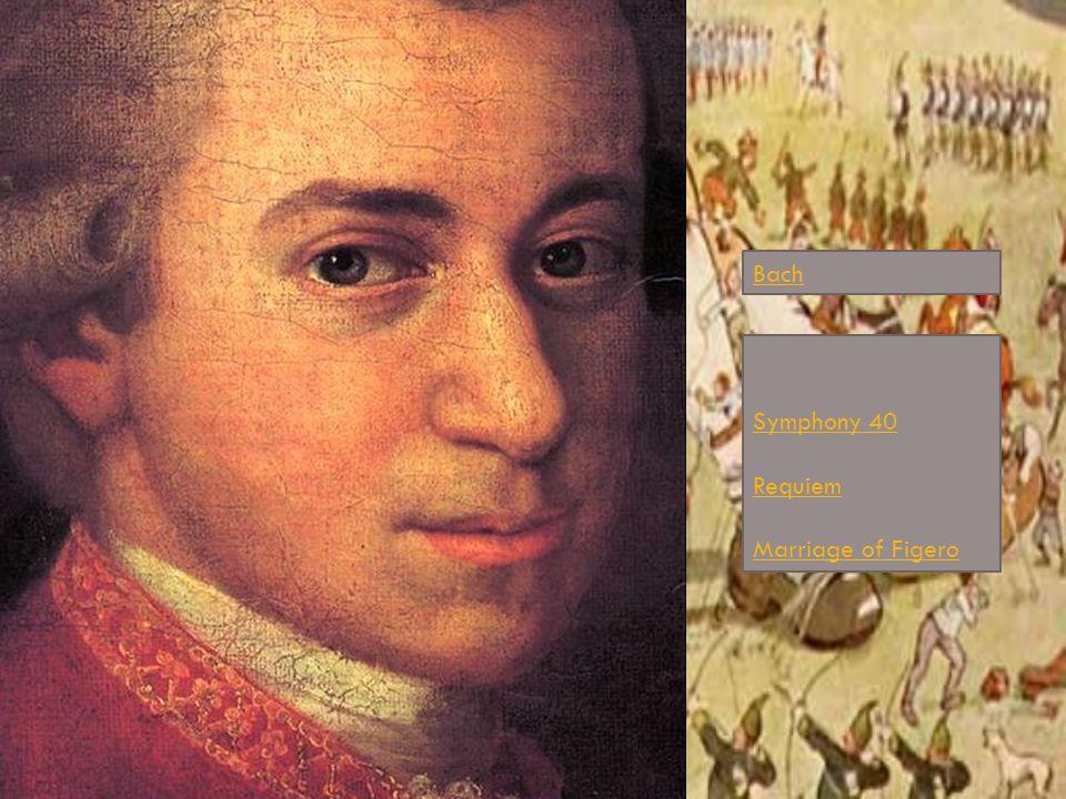 Bach Symphony 40 Requiem Marriage of Figero