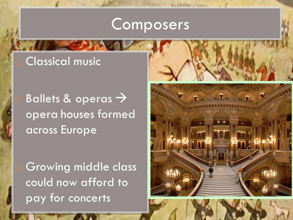 Composers Classical music