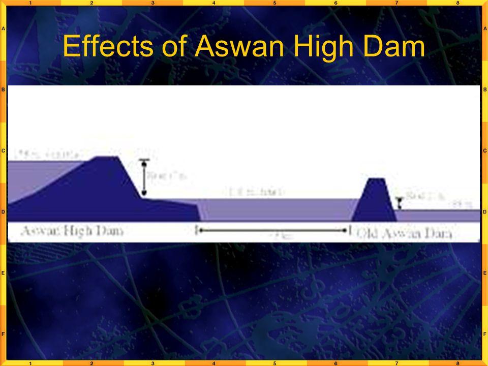 Effects of Aswan High Dam
