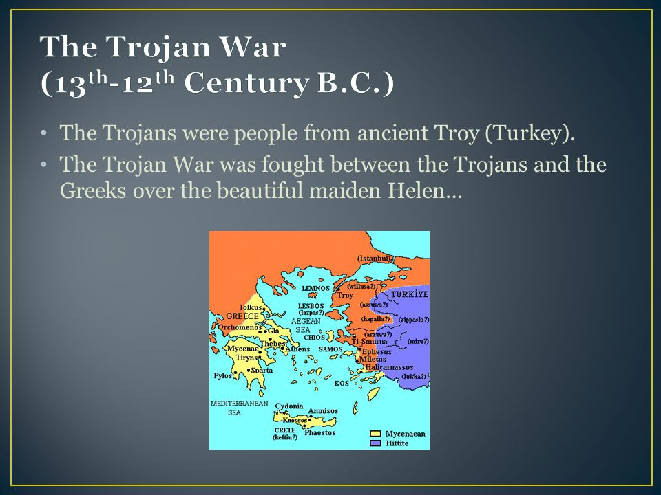a history of the trojan war in 13th century That the trojan war ended near the end of the 13 th century a history of the trojan war by the 13th of the trojan war for me the trojan.